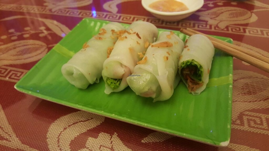 """Photo of CLOSED: Pho Nam Chay  by <a href=""""/members/profile/Refinnej"""">Refinnej</a> <br/>Pho Cuốn (Pho spring rolls) <br/> December 27, 2015  - <a href='/contact/abuse/image/65378/130076'>Report</a>"""