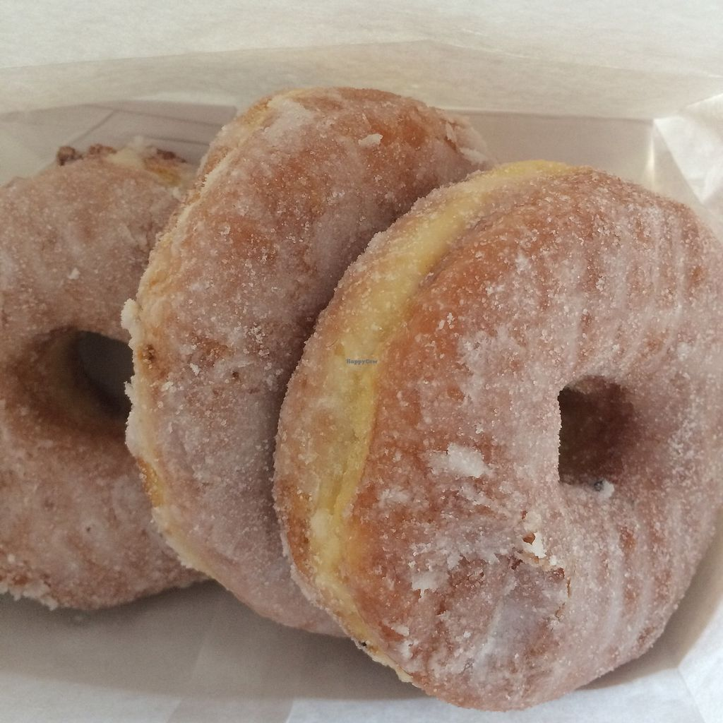 """Photo of Stan's Donuts and Coffee  by <a href=""""/members/profile/meowlison"""">meowlison</a> <br/>raised sugar donuts <br/> August 12, 2017  - <a href='/contact/abuse/image/65388/291800'>Report</a>"""