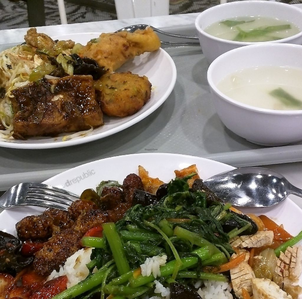 """Photo of Perfect Vegetarian  by <a href=""""/members/profile/Dandan"""">Dandan</a> <br/>can choose from upto 7 options with rice <br/> March 29, 2017  - <a href='/contact/abuse/image/65412/275791'>Report</a>"""