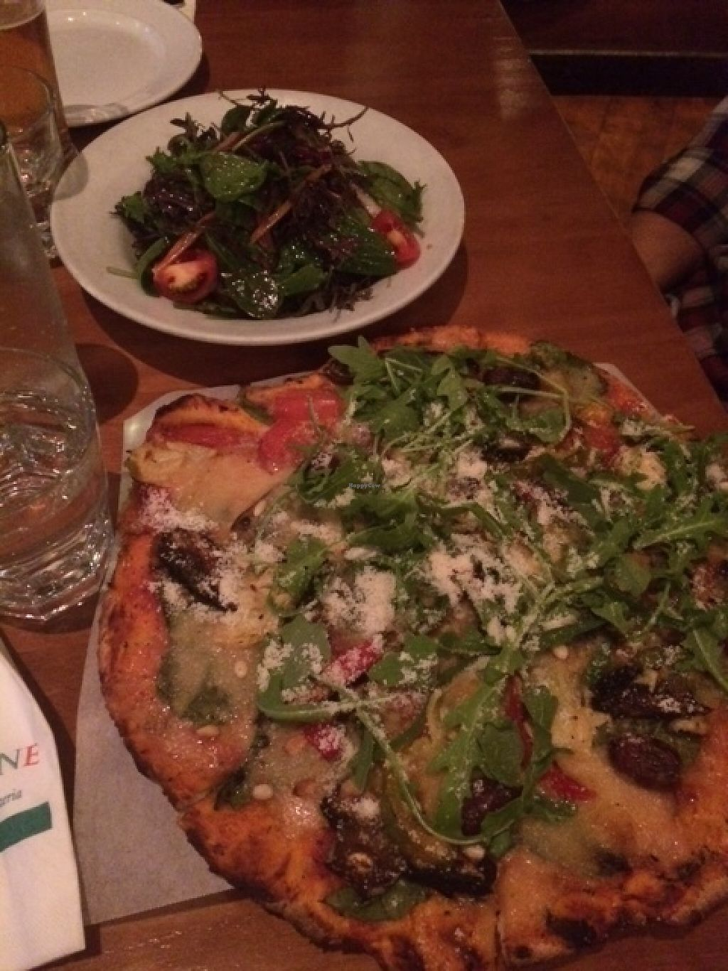 """Photo of Tutto Bene  by <a href=""""/members/profile/maddywa"""">maddywa</a> <br/>Pizza and salad YUM! <br/> May 9, 2017  - <a href='/contact/abuse/image/65435/257261'>Report</a>"""