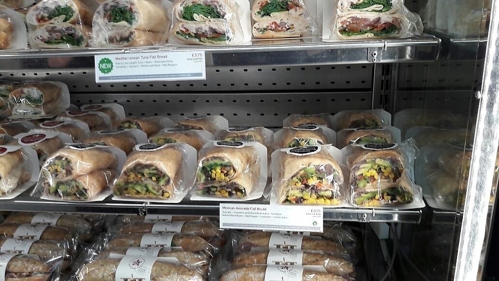 "Photo of Pret A Manger - Heathrow Airport  by <a href=""/members/profile/piffelina"">piffelina</a> <br/>New Mexican wrap <br/> July 2, 2017  - <a href='/contact/abuse/image/65535/276153'>Report</a>"