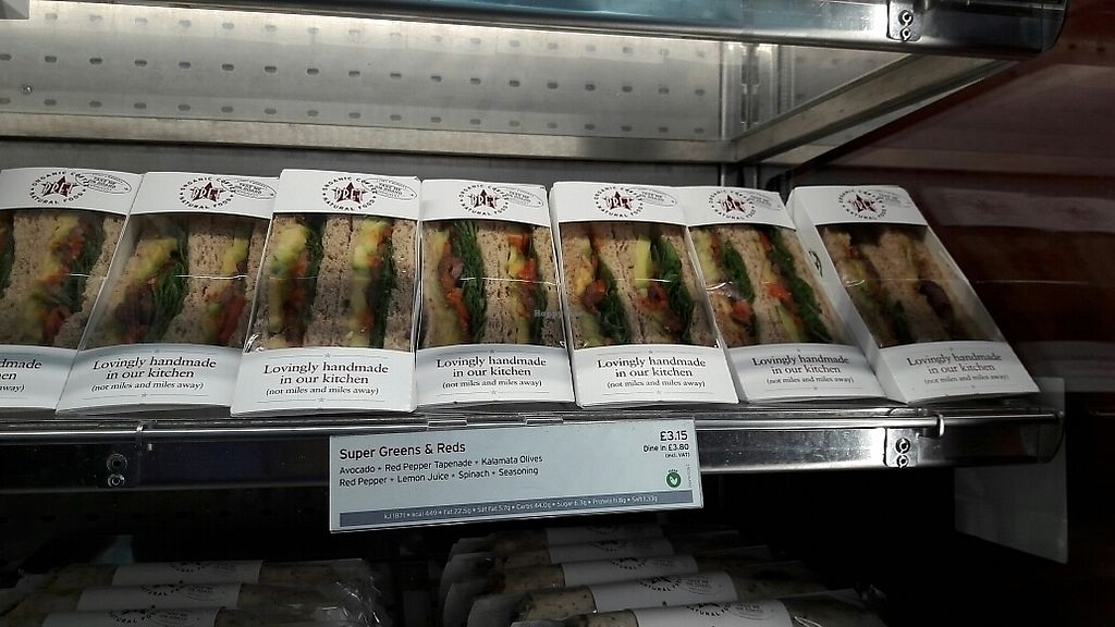 "Photo of Pret A Manger - Heathrow Airport  by <a href=""/members/profile/piffelina"">piffelina</a> <br/>Another sandwich choice  <br/> July 2, 2017  - <a href='/contact/abuse/image/65535/276154'>Report</a>"