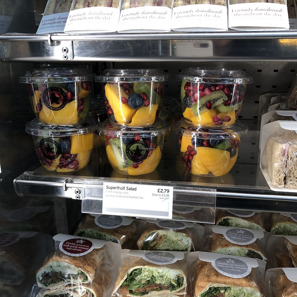 "Photo of Pret A Manger - Heathrow Airport  by <a href=""/members/profile/TARAMCDONALD"">TARAMCDONALD</a> <br/>Fruit pots <br/> April 15, 2018  - <a href='/contact/abuse/image/65535/386292'>Report</a>"