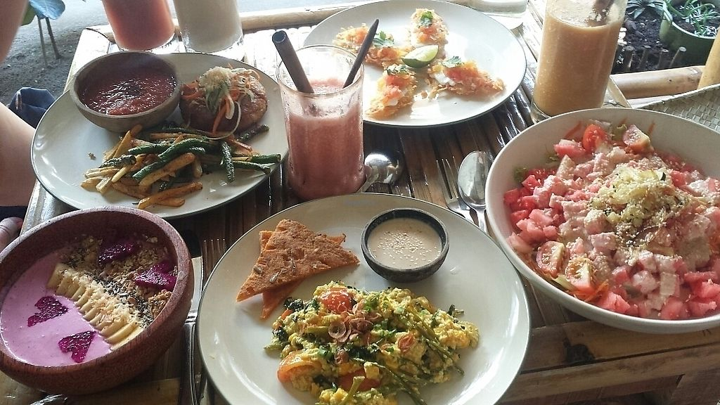 """Photo of Pituq Cafe  by <a href=""""/members/profile/schallioner"""">schallioner</a> <br/>Coconut patty/all day breakfast/watermelon salad <br/> July 29, 2017  - <a href='/contact/abuse/image/65540/286080'>Report</a>"""