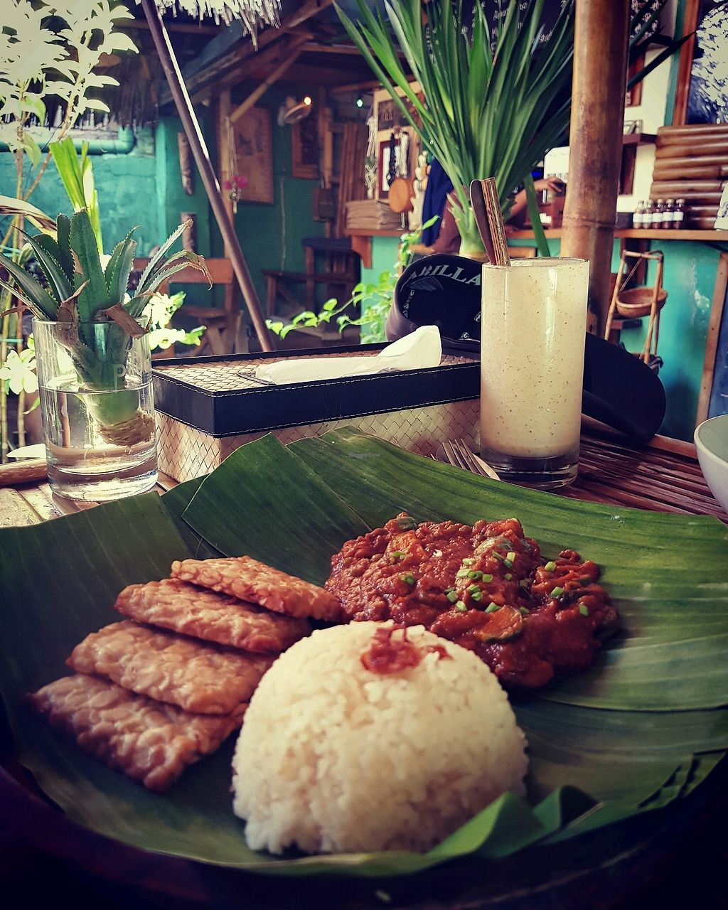 """Photo of Pituq Cafe  by <a href=""""/members/profile/MishyCow"""">MishyCow</a> <br/>Tempe Dish IDR65, 000 <br/> December 10, 2017  - <a href='/contact/abuse/image/65540/334202'>Report</a>"""