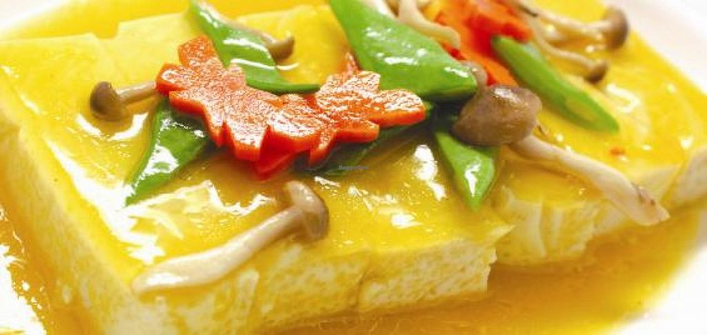 "Photo of Grand Nature Vegetarian  by <a href=""/members/profile/community"">community</a> <br/>Homemade Bean Curd with Pumpkin Sauce <br/> November 22, 2015  - <a href='/contact/abuse/image/65544/125862'>Report</a>"