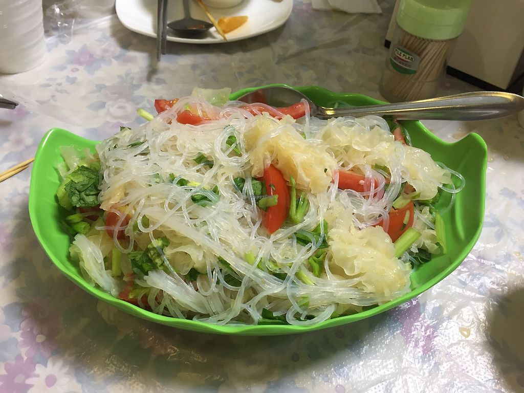 """Photo of Cheng Si Jie Thai Private Kitchen  by <a href=""""/members/profile/SamanthaIngridHo"""">SamanthaIngridHo</a> <br/>Salad <br/> August 22, 2017  - <a href='/contact/abuse/image/65551/295751'>Report</a>"""