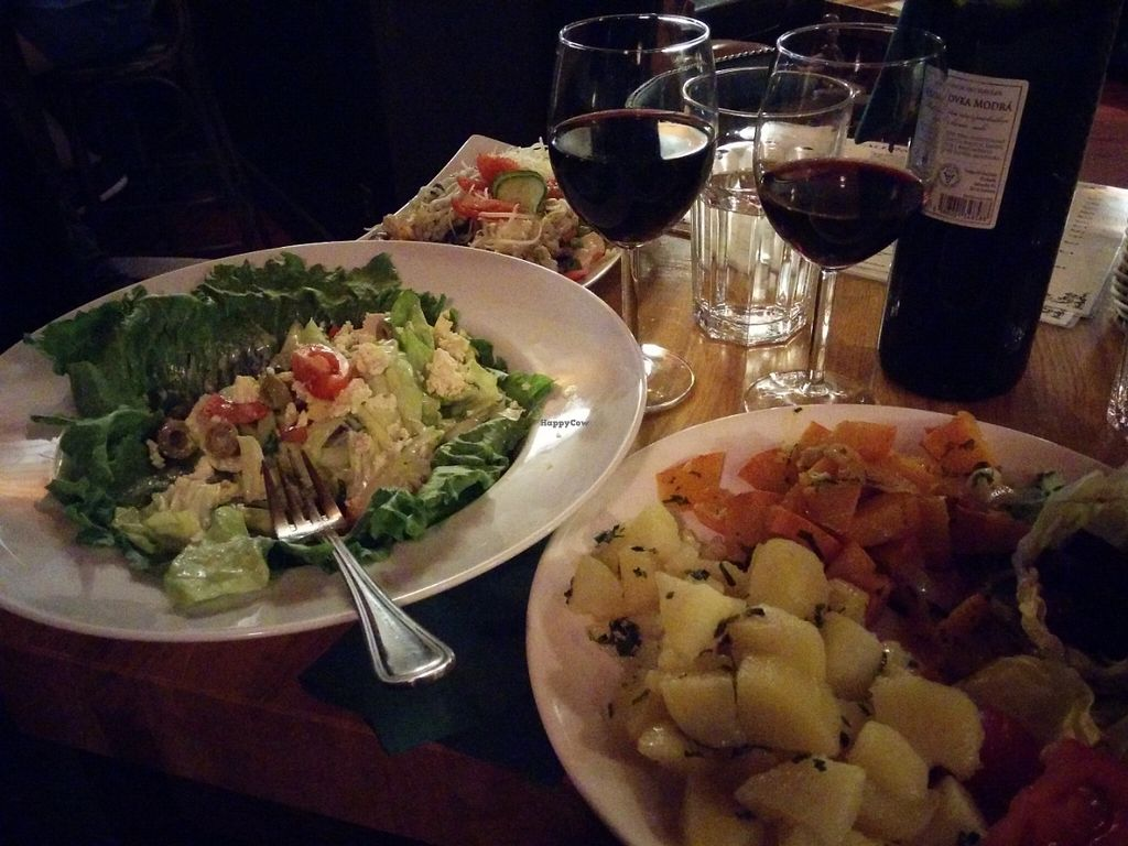 "Photo of CLOSED: All Inclusive Pub  by <a href=""/members/profile/elchrist"">elchrist</a> <br/>Balkan salad, roasted hokkaido (pumpkin), vegetable risotto (more like a pilaf) <br/> May 31, 2016  - <a href='/contact/abuse/image/65552/151619'>Report</a>"