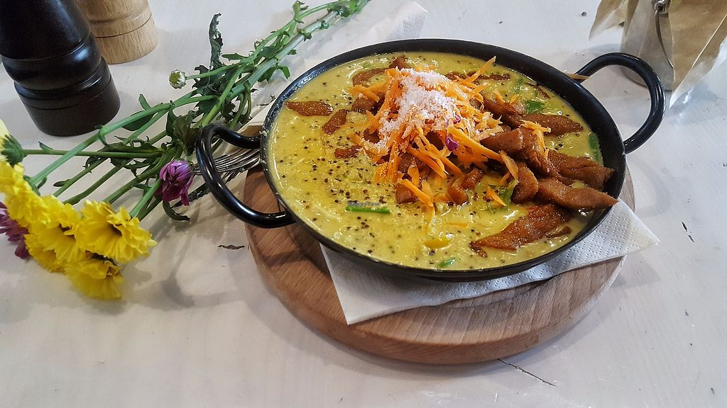 """Photo of Veggiezz - Am Salzgriess  by <a href=""""/members/profile/DanielleSams"""">DanielleSams</a> <br/>Green coconut curry quinotto <br/> July 26, 2017  - <a href='/contact/abuse/image/65561/284877'>Report</a>"""