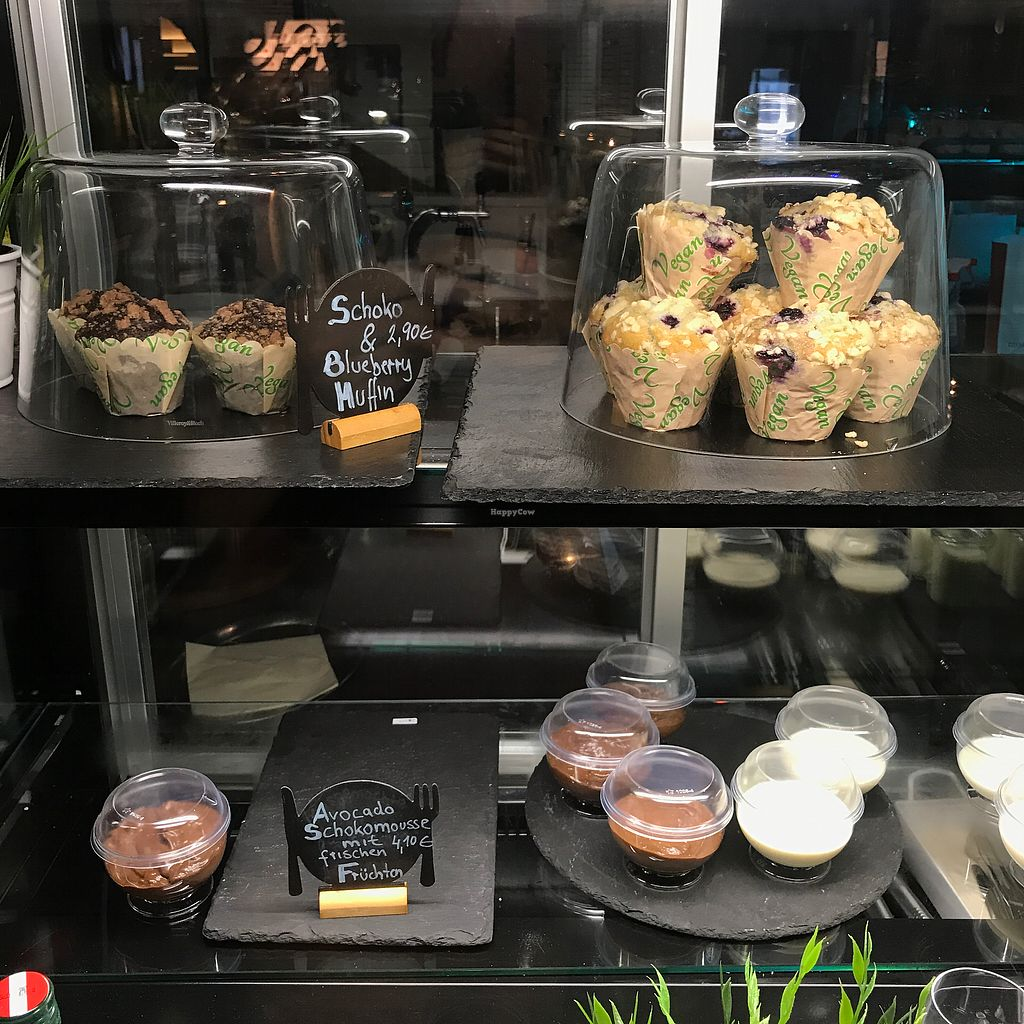 """Photo of Veggiezz - Am Salzgriess  by <a href=""""/members/profile/earthville"""">earthville</a> <br/>vegan desserts! <br/> July 30, 2017  - <a href='/contact/abuse/image/65561/286807'>Report</a>"""