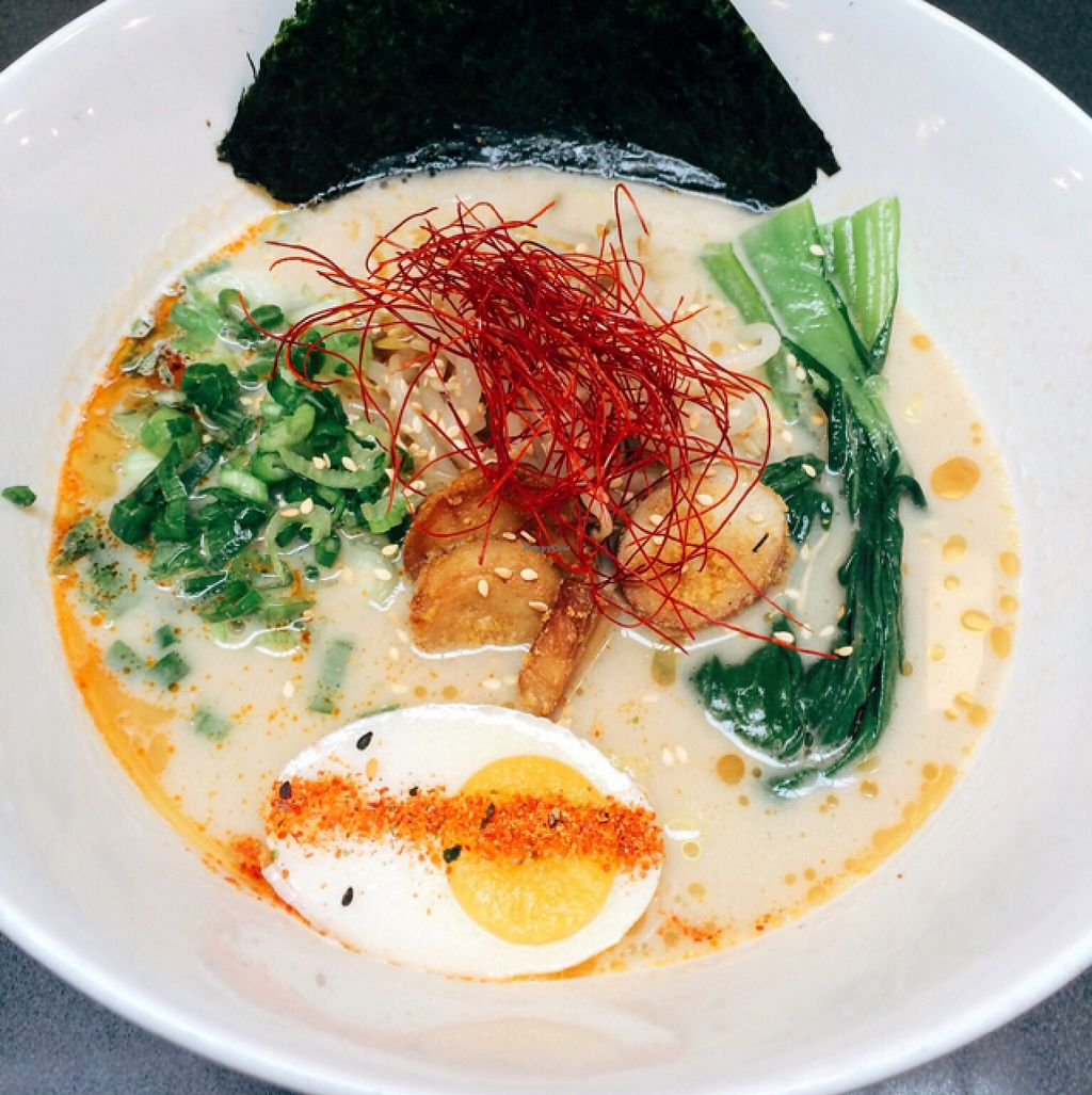 """Photo of Ramen Hood  by <a href=""""/members/profile/youreherenow"""">youreherenow</a> <br/>OG Ramen with vegan egg  <br/> May 27, 2016  - <a href='/contact/abuse/image/65585/151055'>Report</a>"""