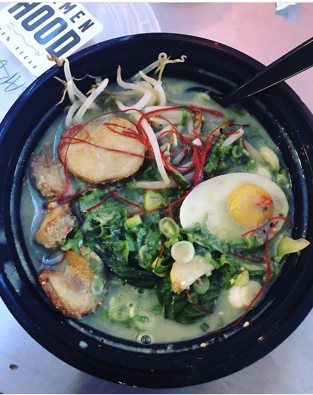 """Photo of Ramen Hood  by <a href=""""/members/profile/SoWo1999"""">SoWo1999</a> <br/>Garlic Noodles <br/> January 14, 2018  - <a href='/contact/abuse/image/65585/346686'>Report</a>"""