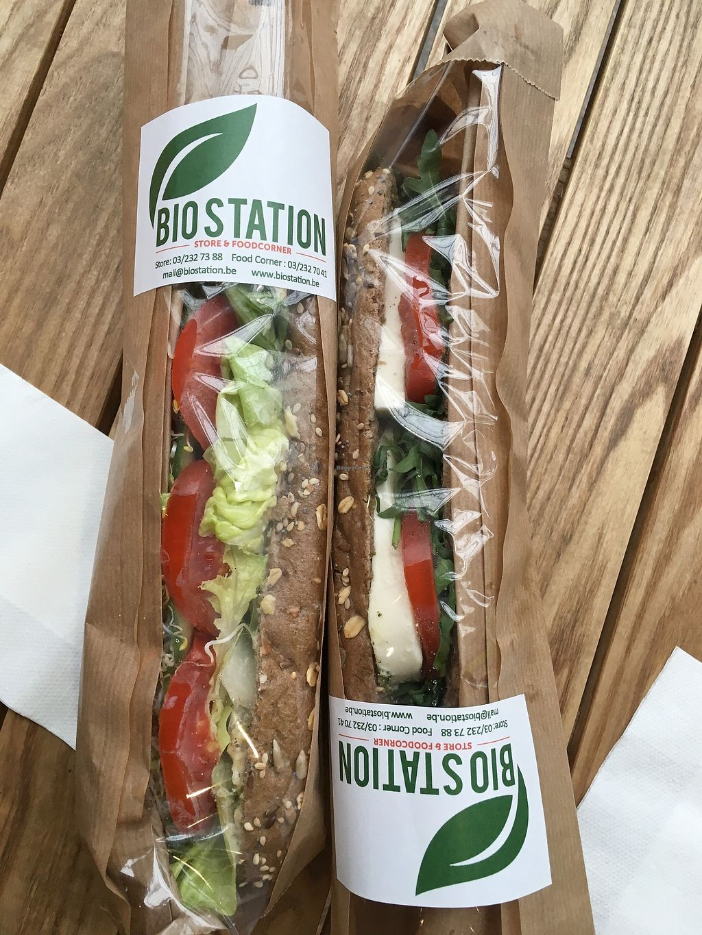 """Photo of Bio Station  by <a href=""""/members/profile/Alina%26Deian"""">Alina&Deian</a> <br/>Tasty sandwiches <br/> December 5, 2017  - <a href='/contact/abuse/image/65596/332561'>Report</a>"""