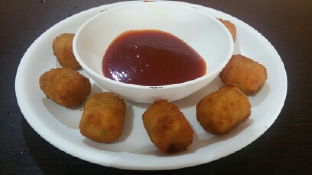 """Photo of CLOSED: Spaghetti and Samosas  by <a href=""""/members/profile/Marionvegan"""">Marionvegan</a> <br/>nuggets <br/> June 14, 2016  - <a href='/contact/abuse/image/65641/153875'>Report</a>"""