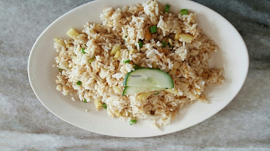 Photo of Sin Yuan Vegetarian  by Raphael_Dane <br/>Pineapple fried rice <br/> December 9, 2016  - <a href='/contact/abuse/image/65654/198616'>Report</a>