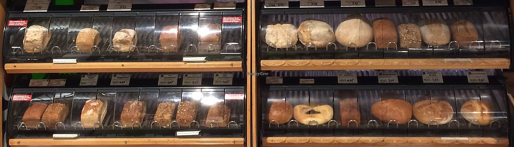 """Photo of Erdi Biomarkt  by <a href=""""/members/profile/Carissima"""">Carissima</a> <br/>Loaves of freshly baked organic bread  <br/> November 3, 2017  - <a href='/contact/abuse/image/65663/321529'>Report</a>"""
