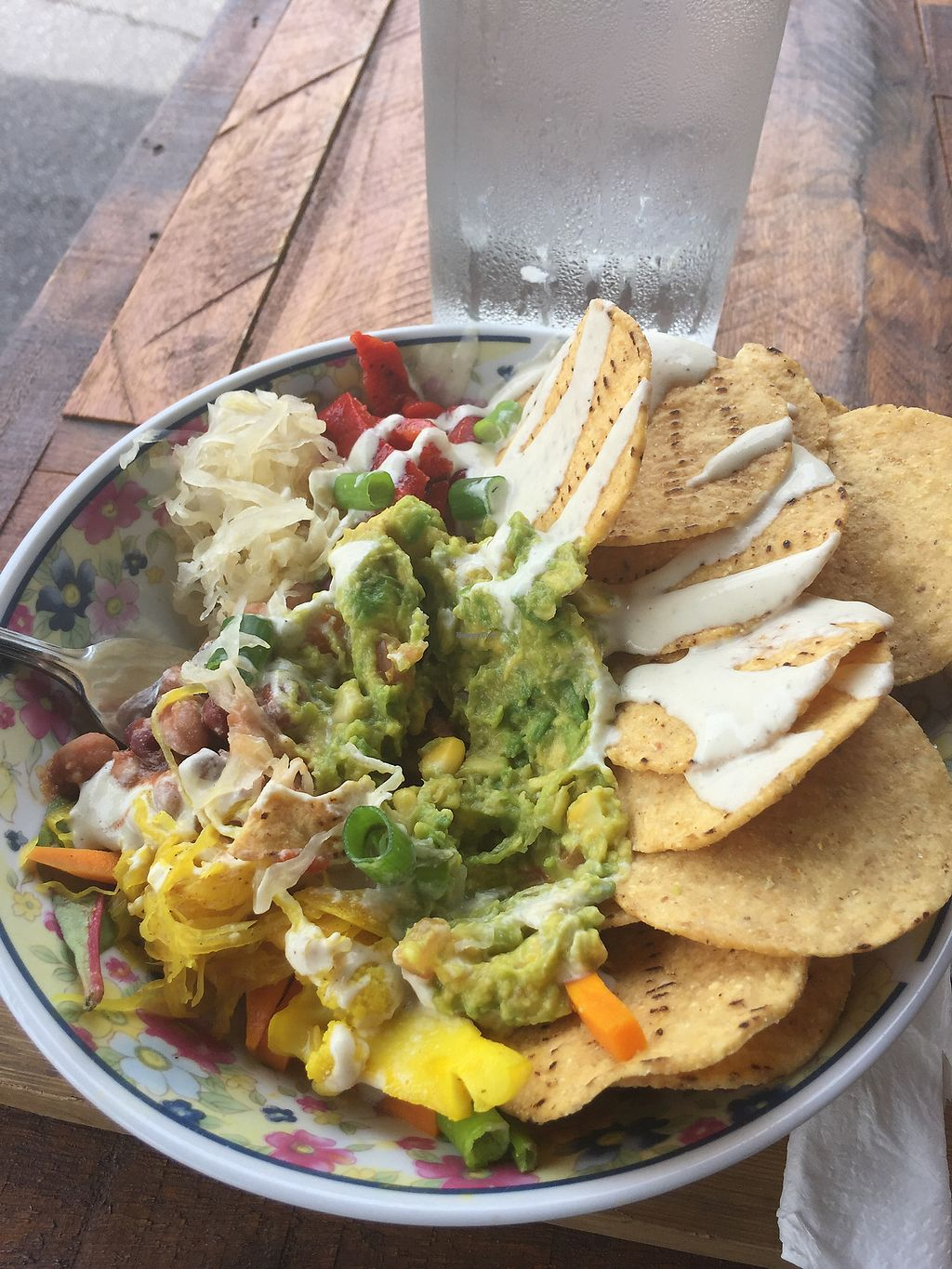 "Photo of Beans & Greens Cafe  by <a href=""/members/profile/AaronTimo"">AaronTimo</a> <br/>Burrito bowl <br/> March 24, 2018  - <a href='/contact/abuse/image/65680/375075'>Report</a>"