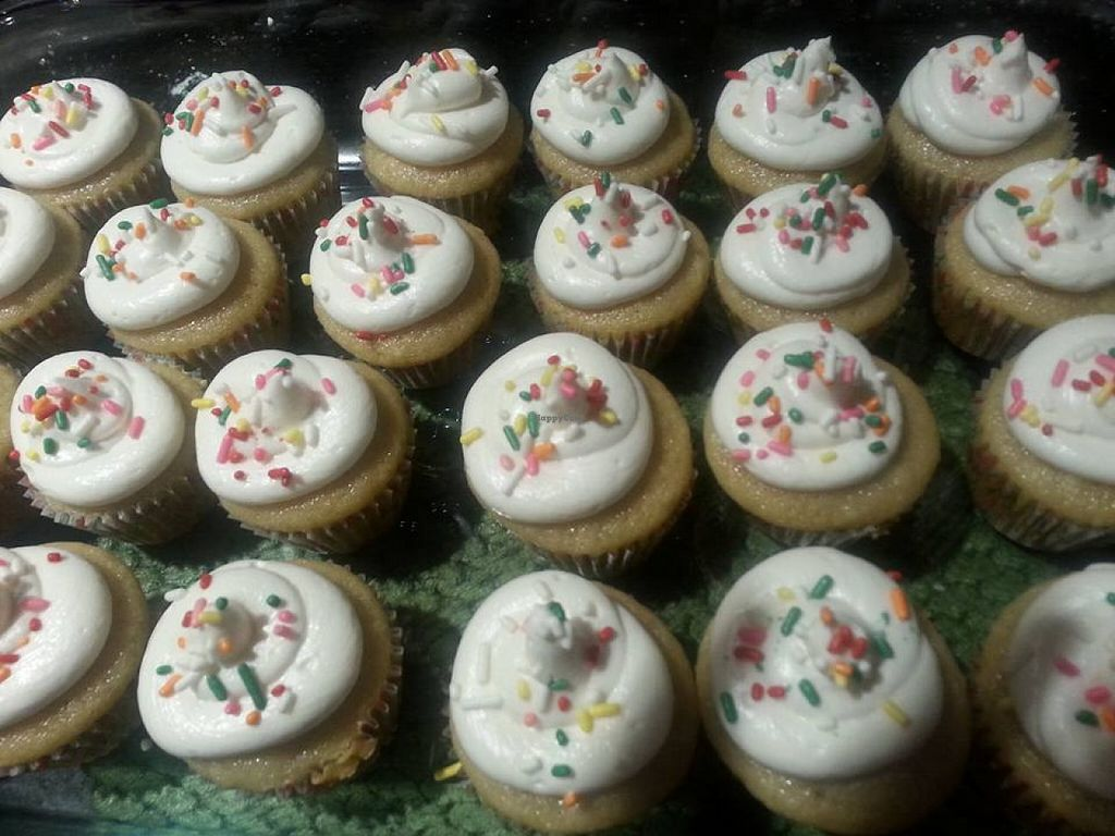 """Photo of Elite Sweets Bakery  by <a href=""""/members/profile/community"""">community</a> <br/>vegan cupcakes  <br/> November 27, 2015  - <a href='/contact/abuse/image/65690/126327'>Report</a>"""
