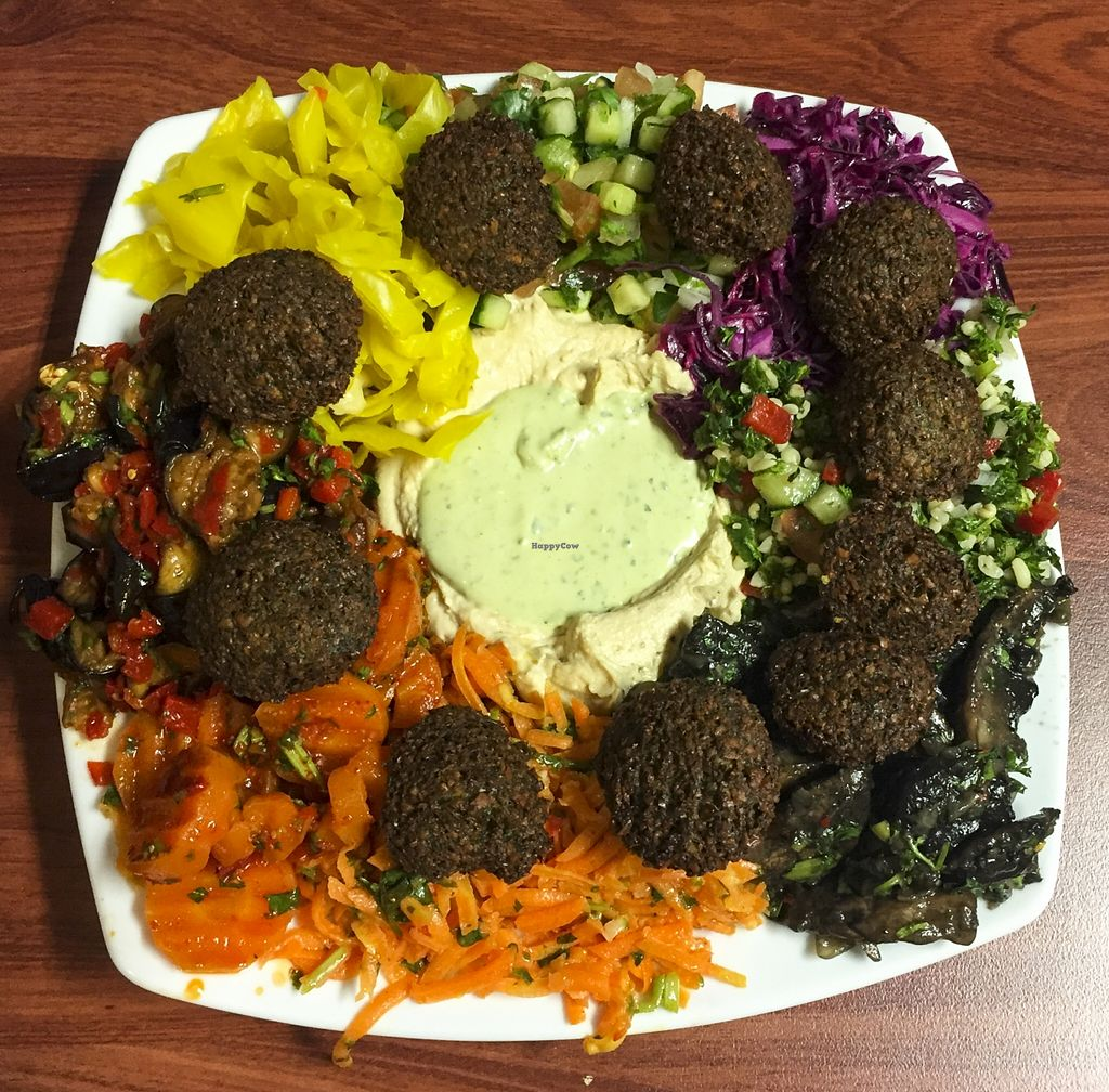 "Photo of Hilulim Kosher Restaurant  by <a href=""/members/profile/karlaess"">karlaess</a> <br/>Large falafel plate <br/> November 13, 2015  - <a href='/contact/abuse/image/65700/124835'>Report</a>"