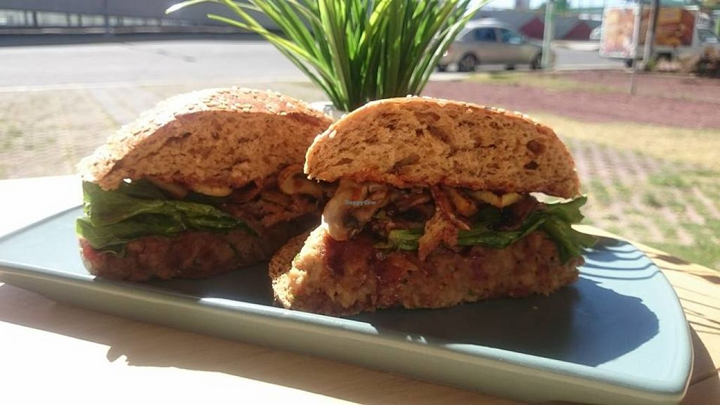 """Photo of Lisu Vegetarian  by <a href=""""/members/profile/community"""">community</a> <br/>vegetarian bbq burgers <br/> June 3, 2016  - <a href='/contact/abuse/image/65723/152090'>Report</a>"""