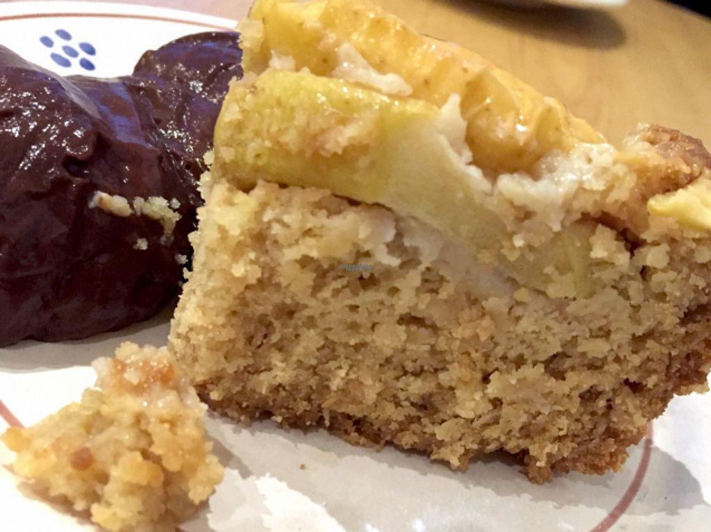 "Photo of Apulia  by <a href=""/members/profile/NatalieDowelMcIntosh"" class=""title__title"">NatalieDowelMcIntosh</a> <br/>Italian Apple Cake and Chocolate Custard (vegan) <br/> August 10, 2016  - <a href='/contact/abuse/image/65736/167524'>Report</a>"
