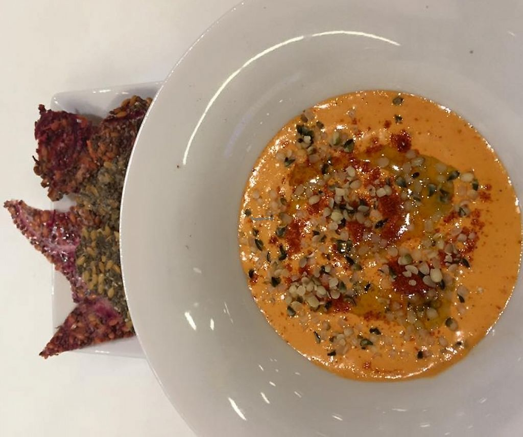 """Photo of bistRAWveg  by <a href=""""/members/profile/community"""">community</a> <br/>hummus and chia  <br/> November 27, 2015  - <a href='/contact/abuse/image/65738/236241'>Report</a>"""