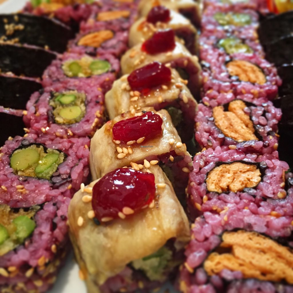 """Photo of Edamame Vegan Sushi  by <a href=""""/members/profile/ElkaMayaCoucou"""">ElkaMayaCoucou</a> <br/>yummy ? <br/> July 29, 2017  - <a href='/contact/abuse/image/65741/286369'>Report</a>"""