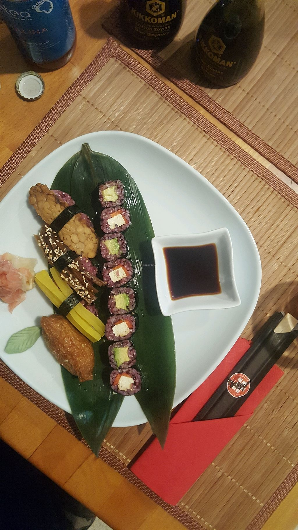 """Photo of Edamame Vegan Sushi  by <a href=""""/members/profile/LeaV.Contreras"""">LeaV.Contreras</a> <br/>Mix set <br/> January 31, 2018  - <a href='/contact/abuse/image/65741/353077'>Report</a>"""