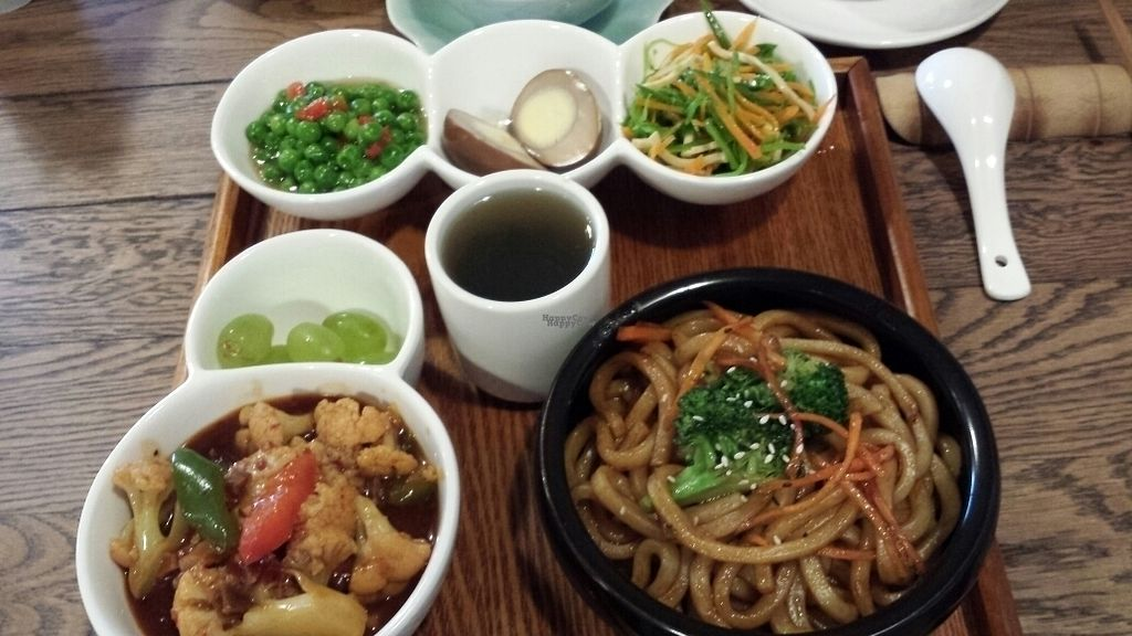 """Photo of CLOSED: WGT Vegetarian Fine Dining  by <a href=""""/members/profile/OToe"""">OToe</a> <br/>Tuesday fixed menu with soba noodles  <br/> October 11, 2016  - <a href='/contact/abuse/image/65752/181430'>Report</a>"""