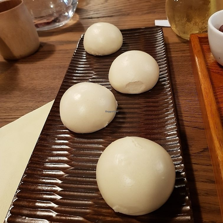 """Photo of CLOSED: WGT Vegetarian Fine Dining  by <a href=""""/members/profile/Sassyvegan"""">Sassyvegan</a> <br/>Red bean buns <br/> July 1, 2017  - <a href='/contact/abuse/image/65752/275754'>Report</a>"""