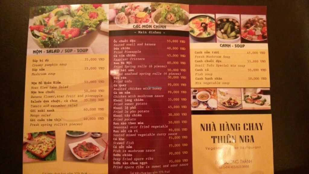 """Photo of CLOSED: Swan Vegetarian Restaurant  by <a href=""""/members/profile/B3pio"""">B3pio</a> <br/>Menu <br/> December 14, 2015  - <a href='/contact/abuse/image/65754/128411'>Report</a>"""