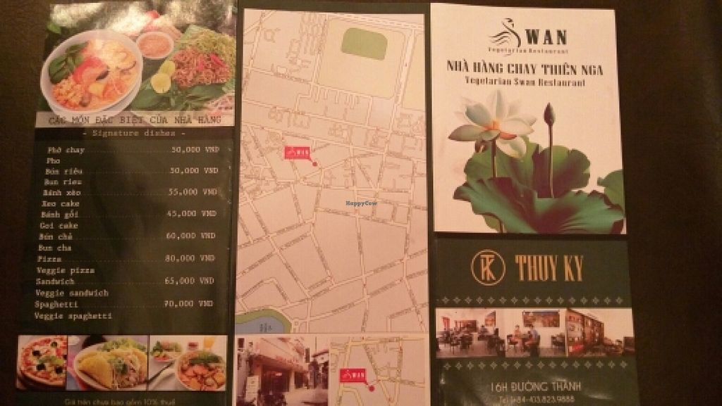 """Photo of CLOSED: Swan Vegetarian Restaurant  by <a href=""""/members/profile/B3pio"""">B3pio</a> <br/>Menu <br/> December 14, 2015  - <a href='/contact/abuse/image/65754/128413'>Report</a>"""