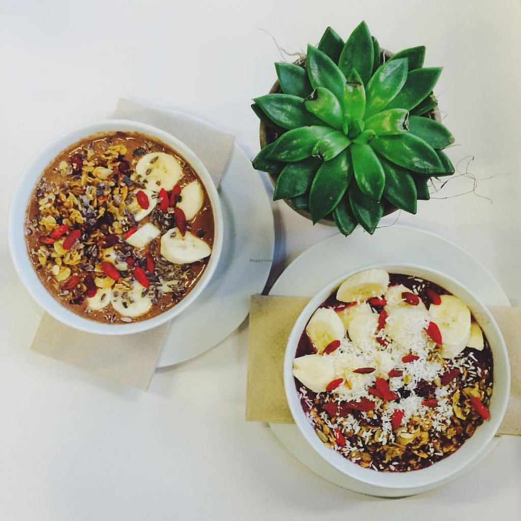 """Photo of Greenmouth Juice Cafe  by <a href=""""/members/profile/community"""">community</a> <br/>superfood smoothie bowl <br/> May 3, 2016  - <a href='/contact/abuse/image/65755/147301'>Report</a>"""