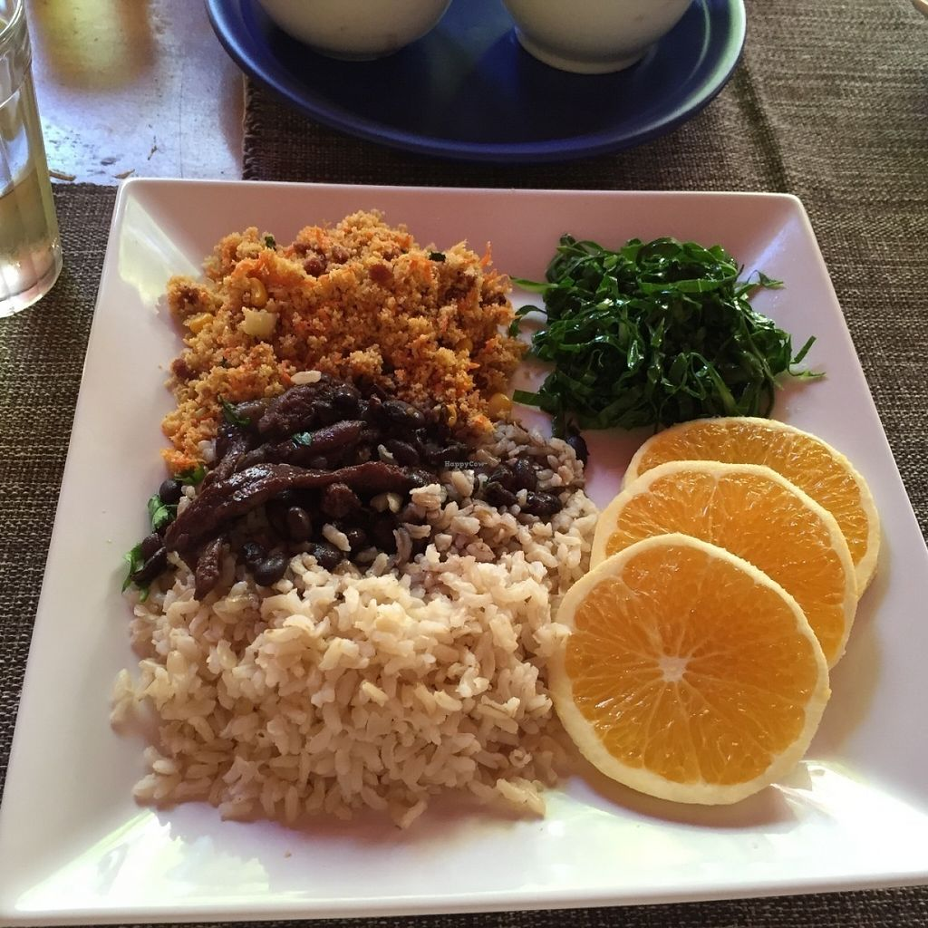 """Photo of Padma Padam Hostel and Cozinha Vegetariana  by <a href=""""/members/profile/Paolla"""">Paolla</a> <br/>Vegan feijoada <br/> July 31, 2016  - <a href='/contact/abuse/image/65779/163948'>Report</a>"""