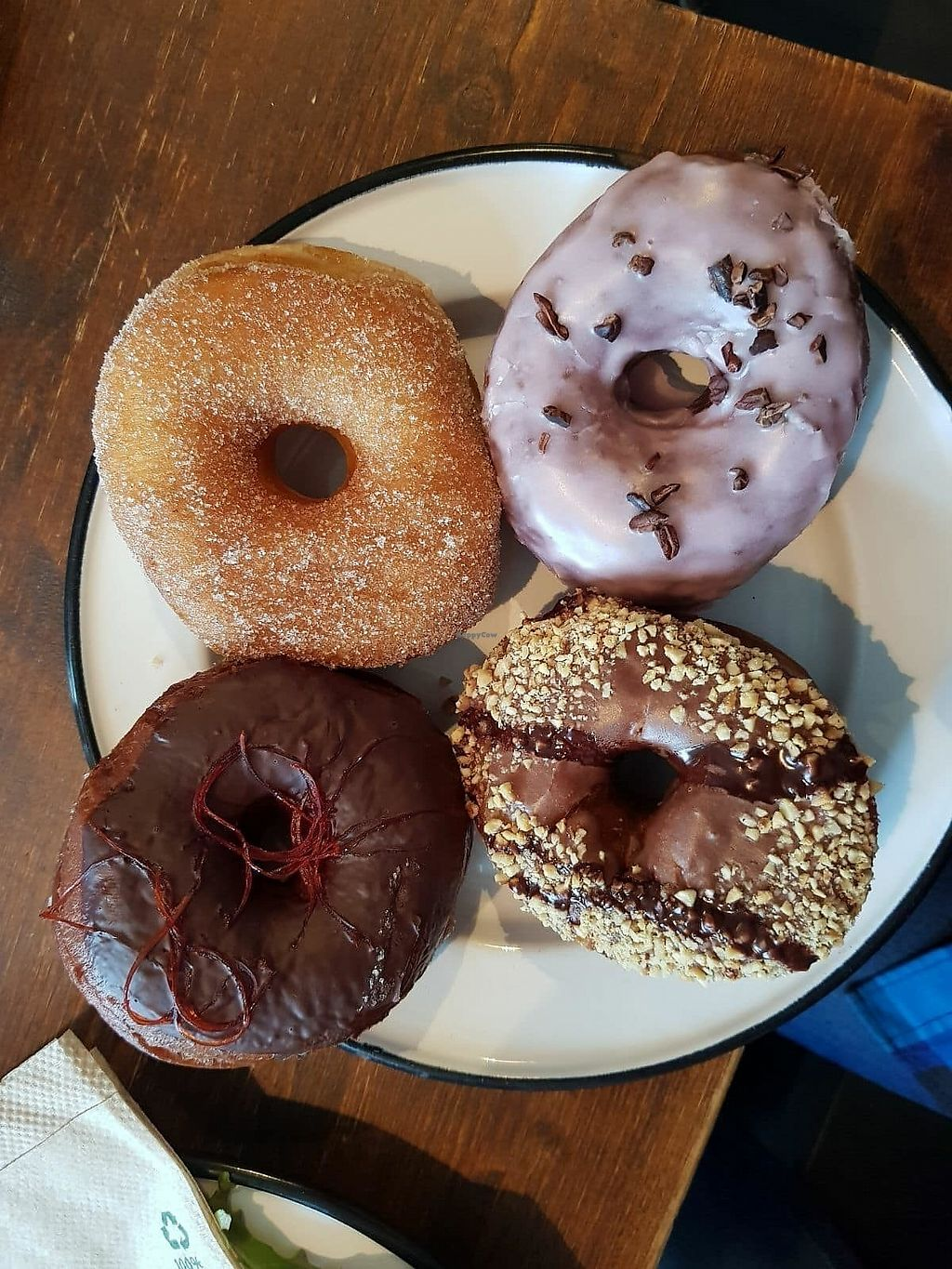 """Photo of Brammibal's Donuts - Maybachufer  by <a href=""""/members/profile/vegan.goddammit"""">vegan.goddammit</a> <br/>donuts <br/> March 12, 2018  - <a href='/contact/abuse/image/65783/369822'>Report</a>"""