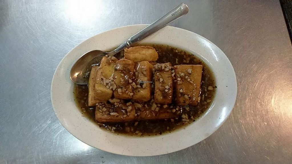 """Photo of The Legend Vegetarian Cafe   by <a href=""""/members/profile/community"""">community</a> <br/>tofu dish  <br/> December 1, 2015  - <a href='/contact/abuse/image/65788/126876'>Report</a>"""