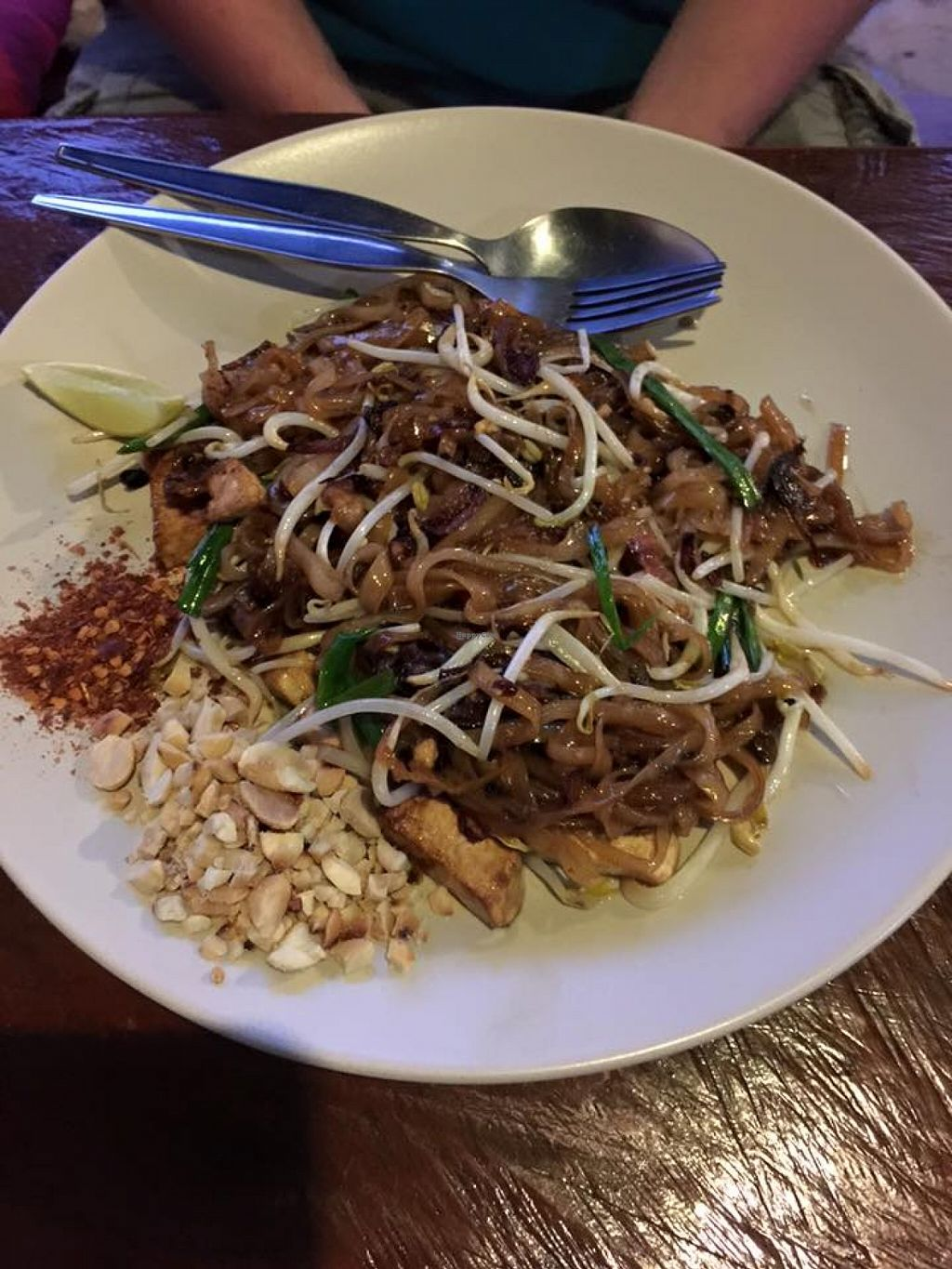 """Photo of CLOSED: Mayomwhan Nat's Kitchen  by <a href=""""/members/profile/Rocker"""">Rocker</a> <br/>best pad thai that I ate on my entire trip to Thailand <br/> November 19, 2015  - <a href='/contact/abuse/image/65791/125511'>Report</a>"""