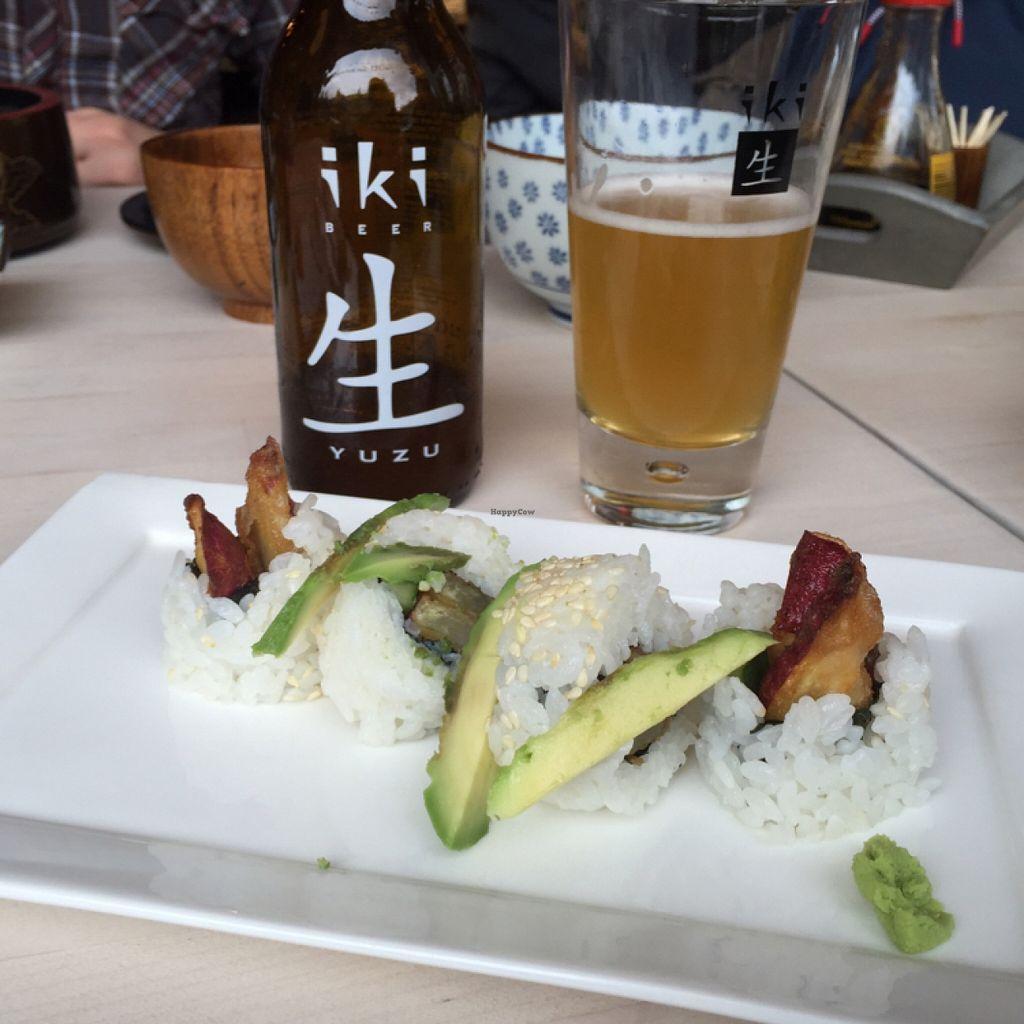 "Photo of ii Japanese Deli  by <a href=""/members/profile/shanmackie"">shanmackie</a> <br/>Vegan sweet potato tempura roll <br/> November 16, 2015  - <a href='/contact/abuse/image/65803/125142'>Report</a>"