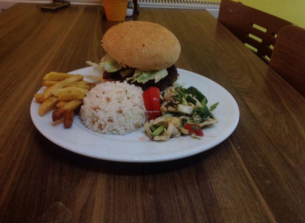 "Photo of Mutfak  by <a href=""/members/profile/guraytezcan"">guraytezcan</a> <br/>vegan burger <br/> November 14, 2015  - <a href='/contact/abuse/image/65808/124991'>Report</a>"