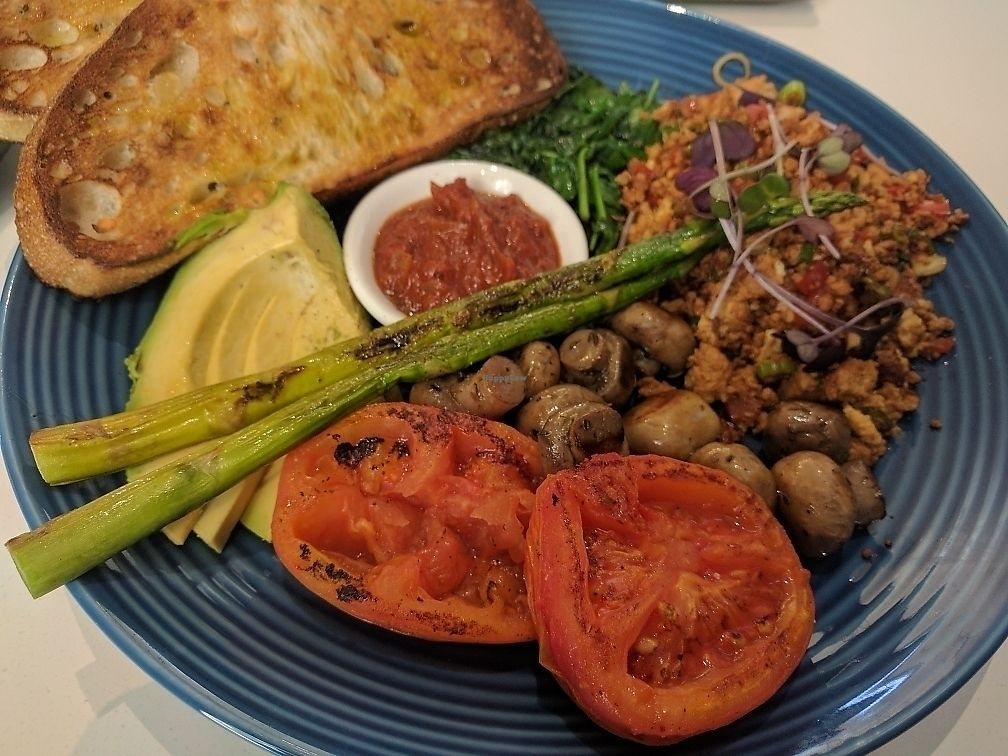 "Photo of In Season Wholefood Cafe  by <a href=""/members/profile/VeganSoapDude"">VeganSoapDude</a> <br/>Vegan big brekkie  <br/> June 21, 2017  - <a href='/contact/abuse/image/65851/271657'>Report</a>"