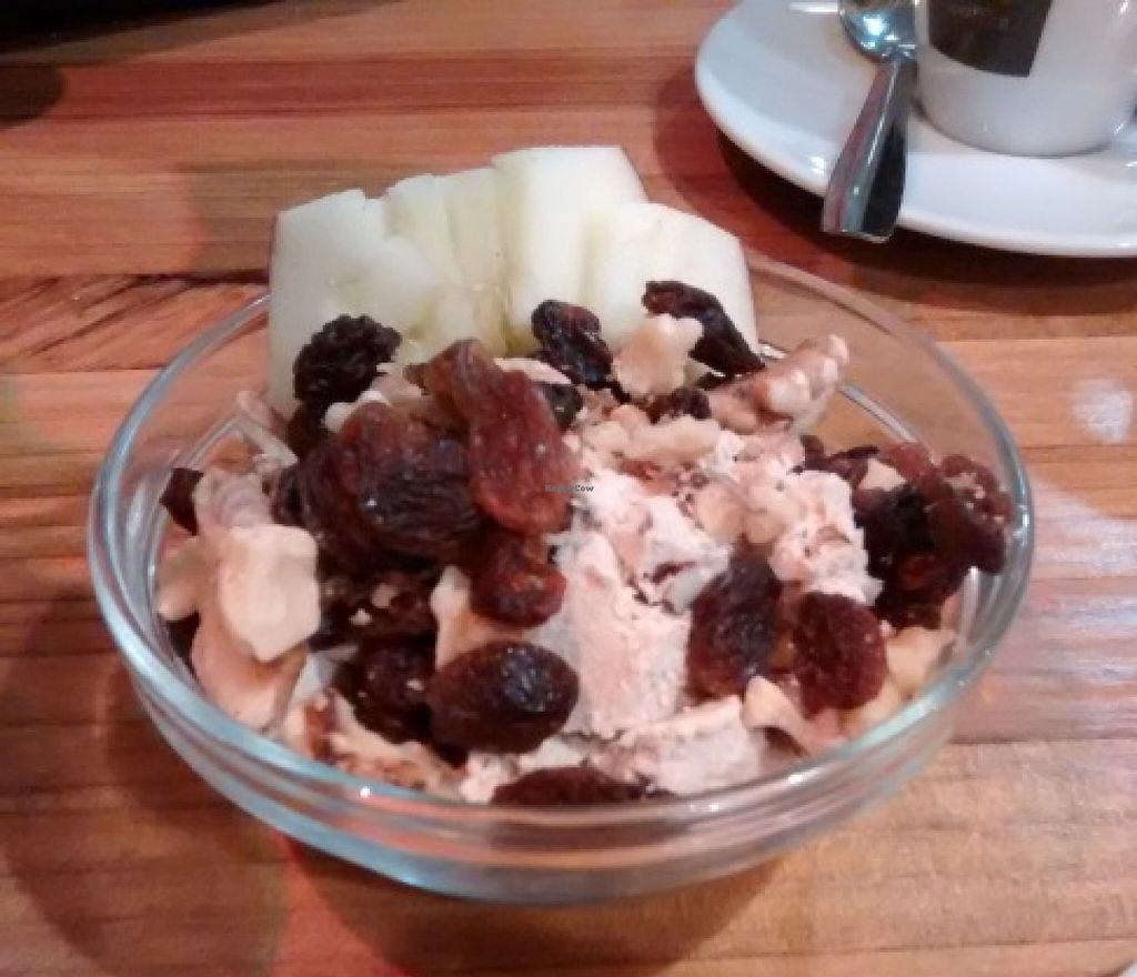 """Photo of La Hummuseria  by <a href=""""/members/profile/LeFunks"""">LeFunks</a> <br/>Awesome vegan dessert not listed in the menu <br/> December 24, 2015  - <a href='/contact/abuse/image/65872/129660'>Report</a>"""