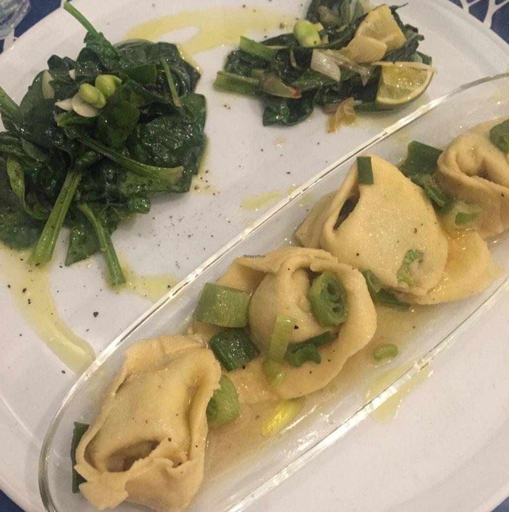 "Photo of CLOSED: Silvana Bio Vegan Food   by <a href=""/members/profile/GabriellaGiGi"">GabriellaGiGi</a> <br/>Filled Ravioli & spinach <br/> May 4, 2016  - <a href='/contact/abuse/image/65896/147463'>Report</a>"