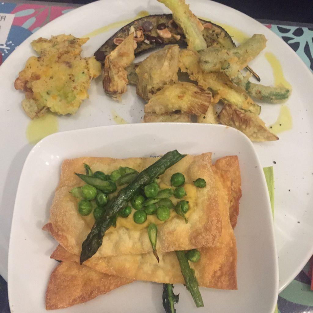 "Photo of CLOSED: Silvana Bio Vegan Food   by <a href=""/members/profile/GabriellaGiGi"">GabriellaGiGi</a> <br/>Asparagus-pees Lasagne with tempura veggies <br/> May 4, 2016  - <a href='/contact/abuse/image/65896/147464'>Report</a>"