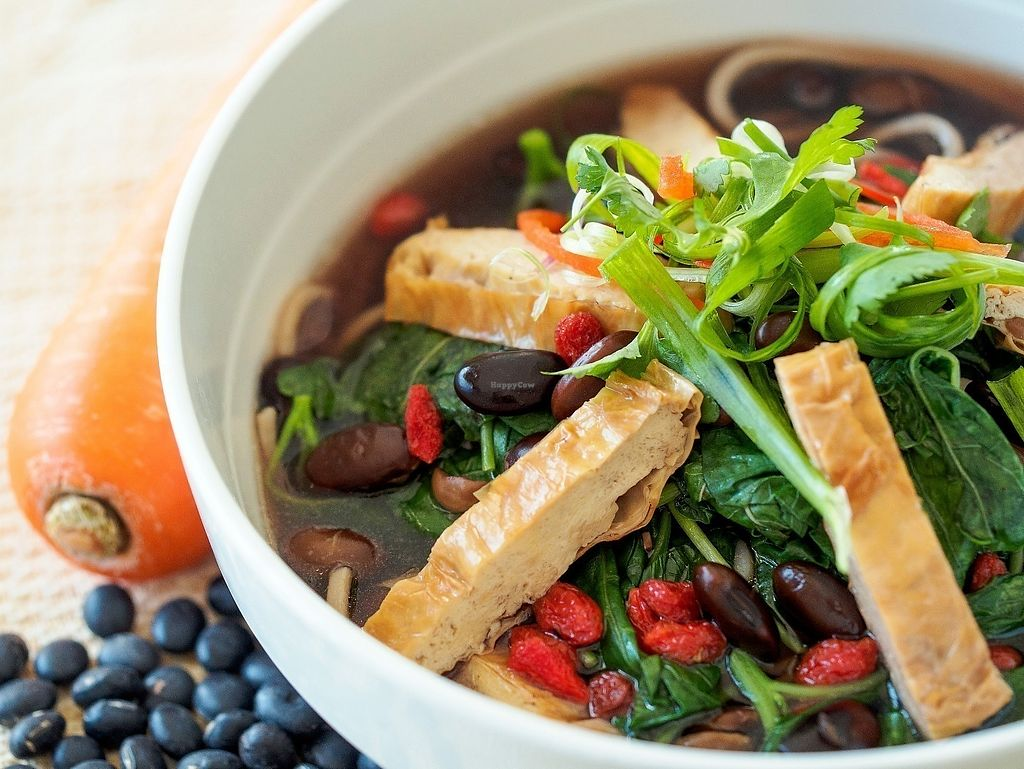 "Photo of Aenon The Health Kitchen  by <a href=""/members/profile/jessicaaenon"">jessicaaenon</a> <br/>AENON HEALTH KITCHEN BLACK BEAN NOODLE SOUP:  Authentic taste of black beans…something light and healthy. 