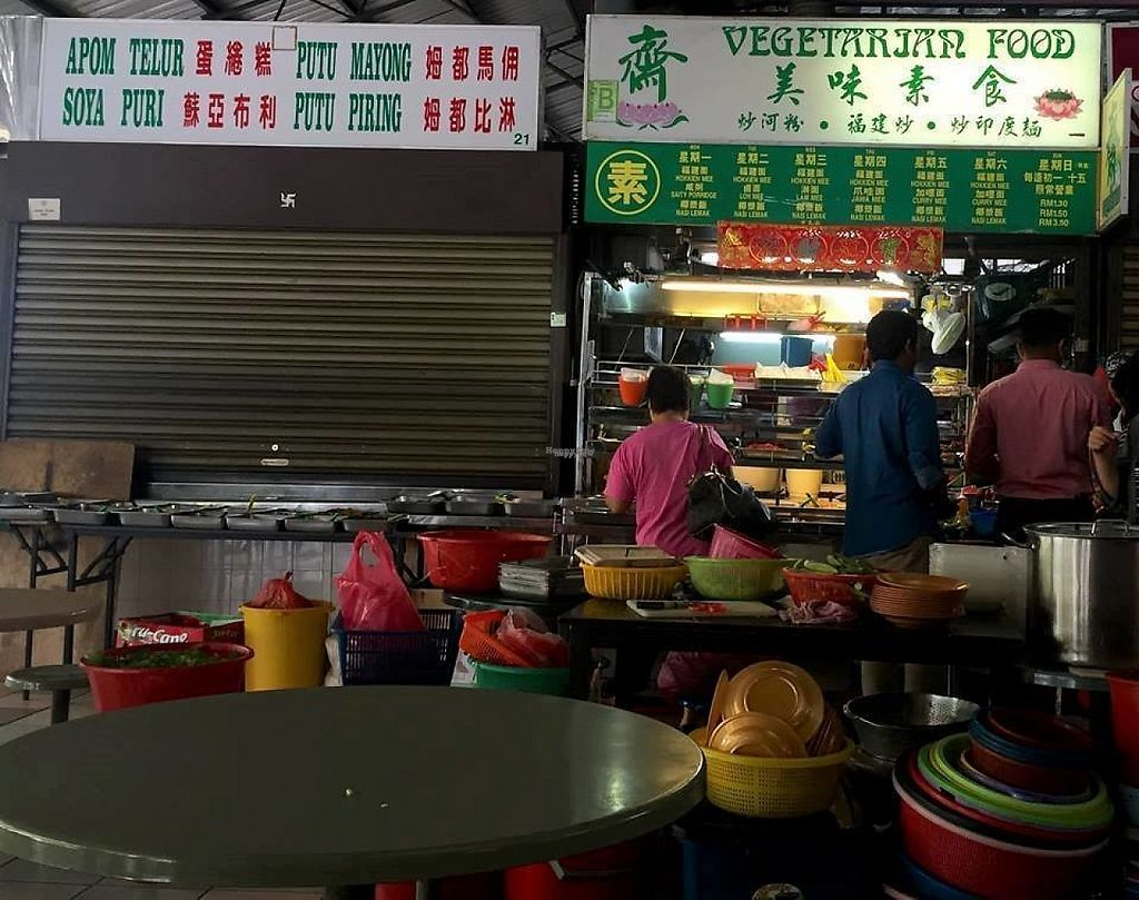 Photo of Kompleks Sri Selera Bayan Baru - Vegetarian Stall  by Raphael_Dane <br/>the stall inside the complex building  <br/> April 27, 2017  - <a href='/contact/abuse/image/65929/252942'>Report</a>