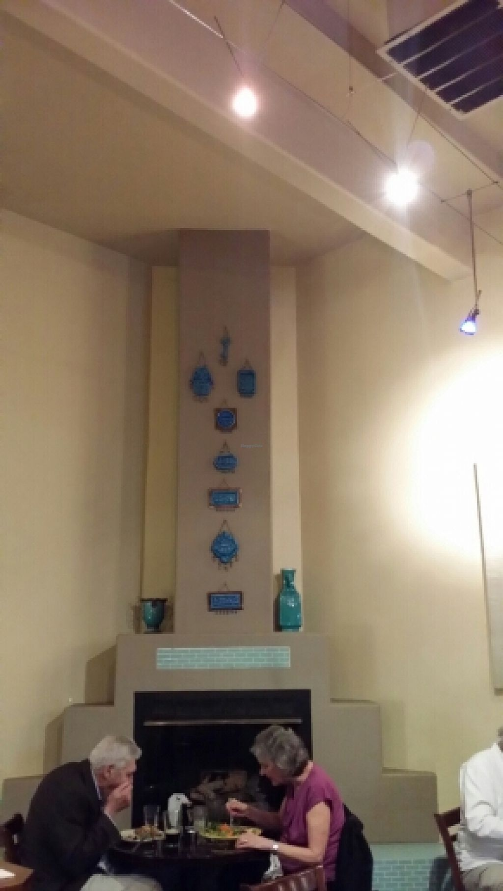 """Photo of East West Cafe  by <a href=""""/members/profile/catbone"""">catbone</a> <br/>Another Wall Display of Prayer Plaques <br/> February 14, 2016  - <a href='/contact/abuse/image/6597/136358'>Report</a>"""