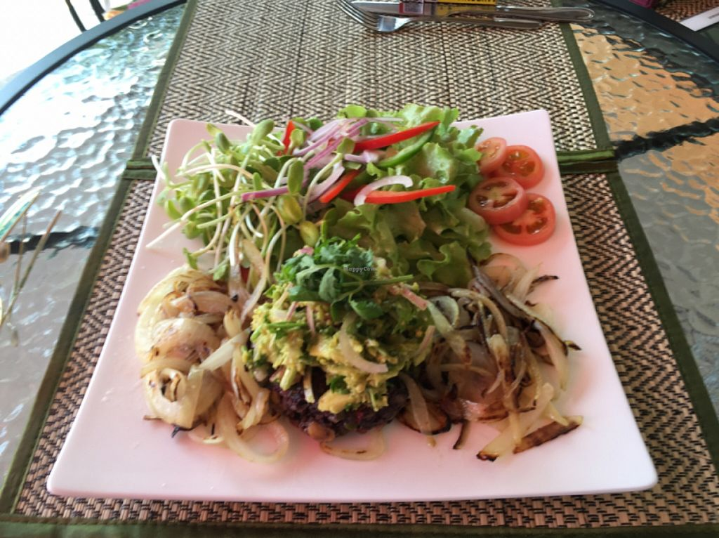 "Photo of Phuket Vegan Naiharn Beach  by <a href=""/members/profile/Neusein"">Neusein</a> <br/>burger with guac  <br/> May 2, 2016  - <a href='/contact/abuse/image/65995/147067'>Report</a>"