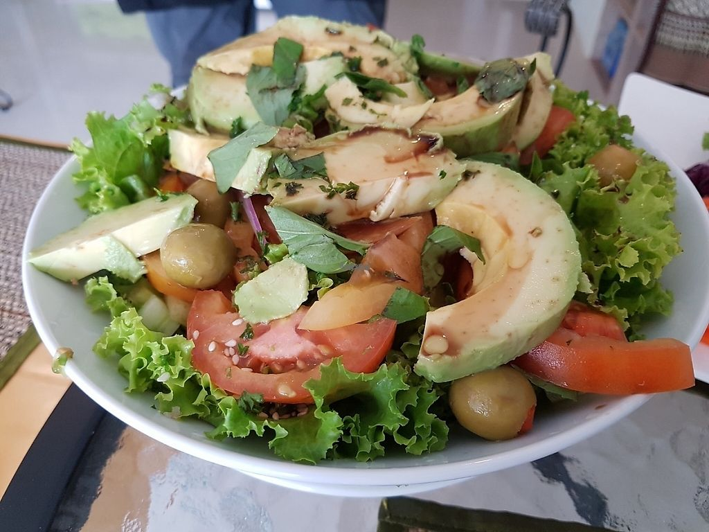 "Photo of Phuket Vegan Naiharn Beach  by <a href=""/members/profile/Rosa%20veg"">Rosa veg</a> <br/>Avocado salad <br/> April 11, 2017  - <a href='/contact/abuse/image/65995/246902'>Report</a>"
