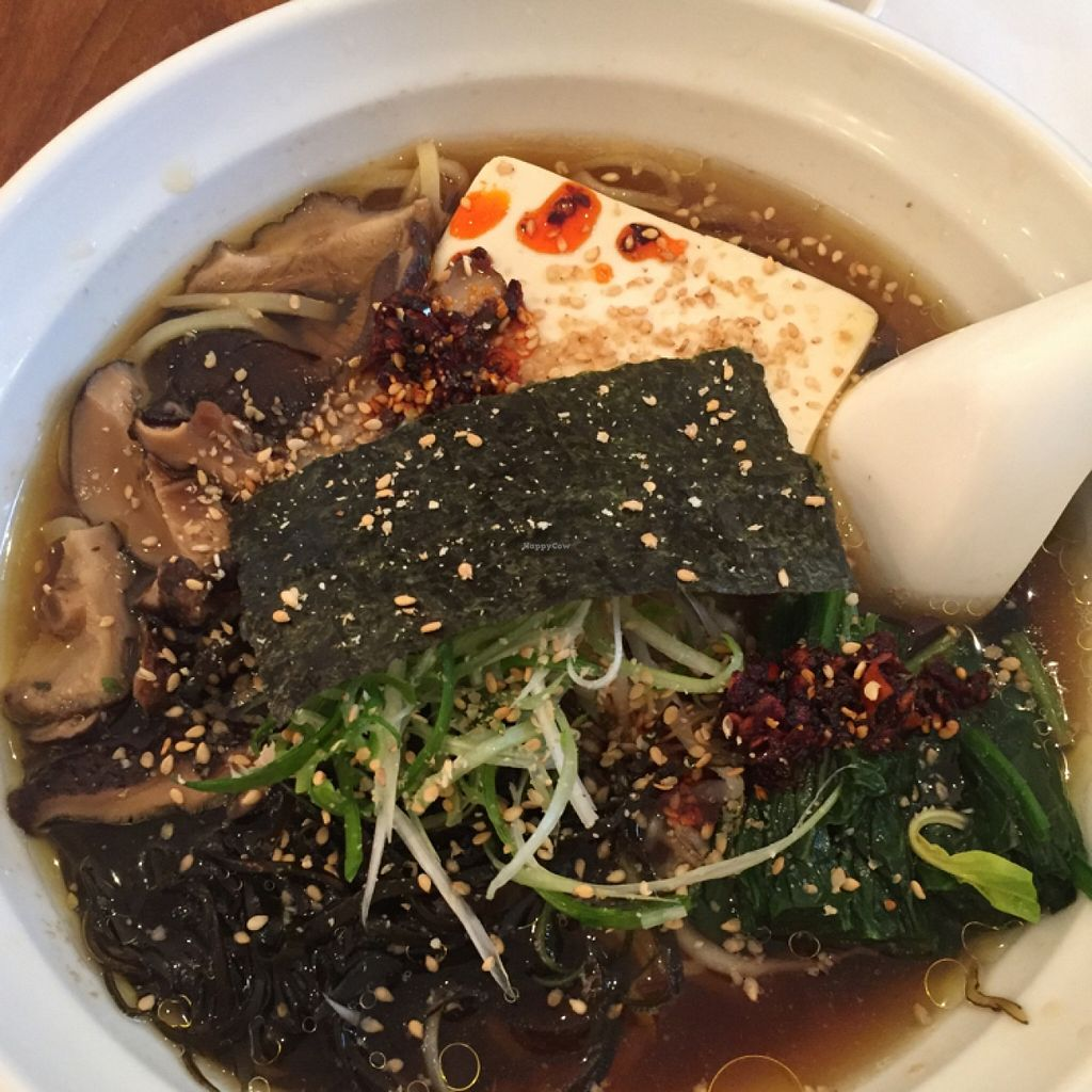"Photo of Fou Fow Ramen  by <a href=""/members/profile/shanmackie"">shanmackie</a> <br/>vegan ramen with added hot oil and sesame seeds <br/> November 17, 2015  - <a href='/contact/abuse/image/66018/125345'>Report</a>"