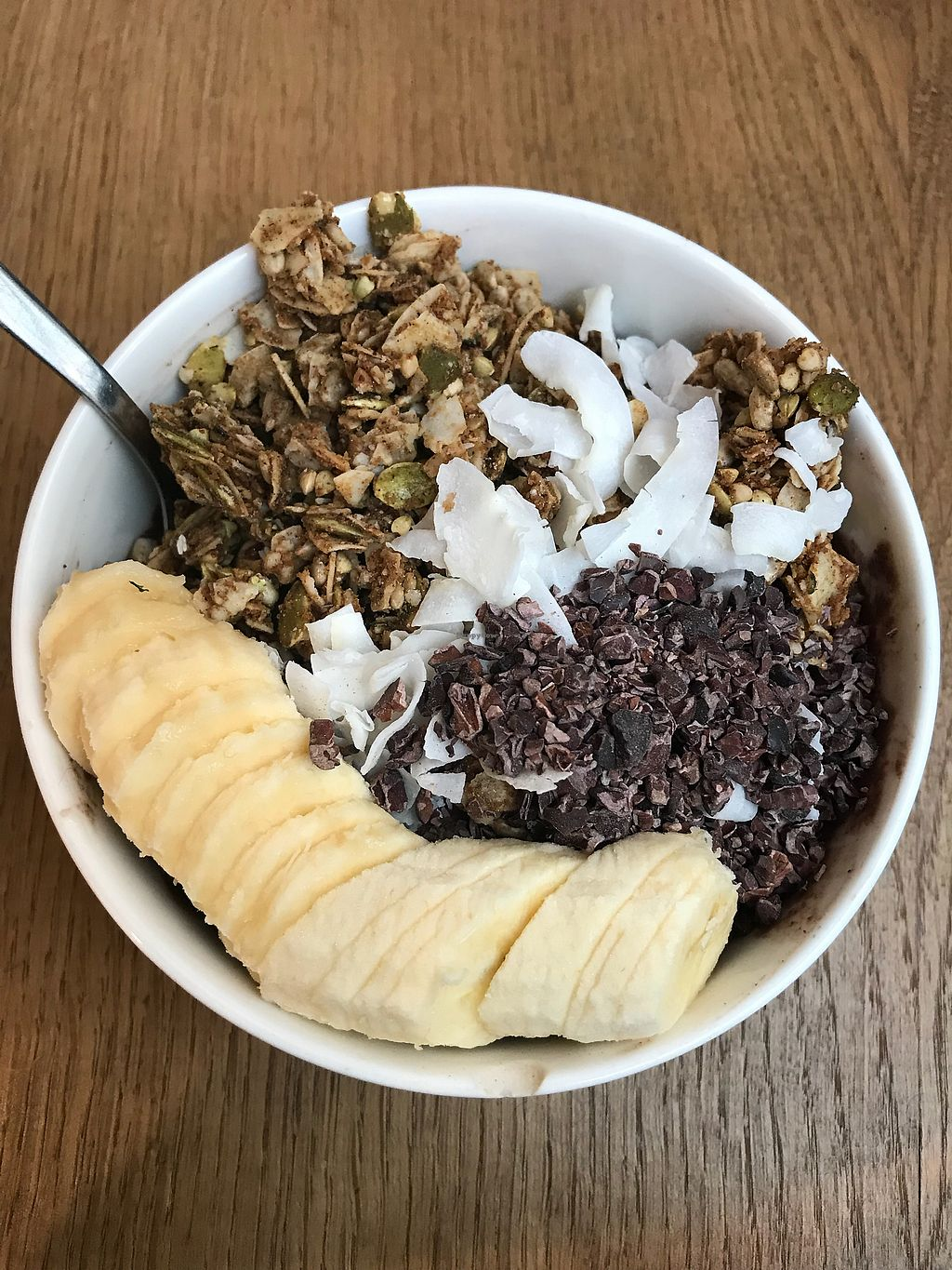 """Photo of Juice Brothers - Raamsteeg  by <a href=""""/members/profile/MusicalVeggie"""">MusicalVeggie</a> <br/>Chocolate protein acai bowl  <br/> October 30, 2017  - <a href='/contact/abuse/image/66019/320186'>Report</a>"""